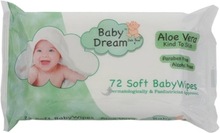 Baby Dream Natte Doekjes Met Aloe Vera - 72 STUKS.