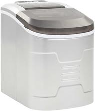 vidaXL Ismaskin 2,4 L 15 kg / 24 tim silver