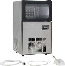 vidaXL Ismaskin 420 W 45 kg / 24 tim svart