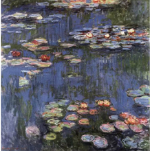 Waterlilies,Claude Monet,50x50cm