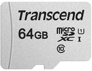 Transcend 300S MicroSDXC Hukommelseskort TS64GUSD300S - 64GB