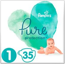 Pampers Pure Protection Luiers Str 1 (2-5kg) - 35 STUKS