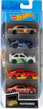 Hot Wheels Kit Voor 5 Wagens - Nightburnerz