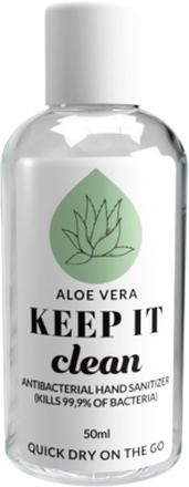 Keep It Clean Aloe Vera Antibacterial Hand Sanitizer, 50 ml Keep It Clean Handsprit