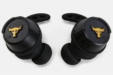 JBL Under Armour True Wireless Flash Sport Headphones - Project Rock Edition - Black