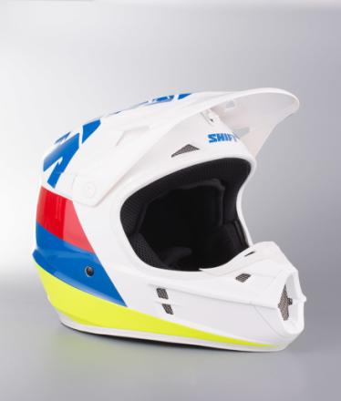 Shift Hjelm MX Whit3