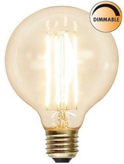 Klar Glob LED Filament 95mm