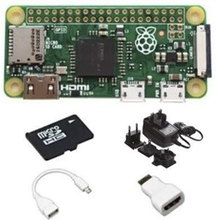 Raspberry Pi Zero W Starter Kit 16GB
