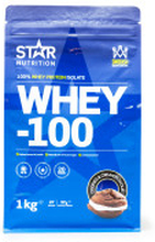 WHEY-100\, 1 kg\, Cookies and Cream