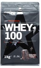 WHEY-100\, 1 kg\, Double Rich Chocolate