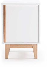 Department - Line Sengebord 61x41 cm, Hvid