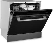 Amazonia 8 Myst inbyggnads-diskmaskin 6 program rostfritt stål svart