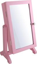 Dacapo Smyckesskåp Med Spegel Rosaträ 25,5X16,5X10cm