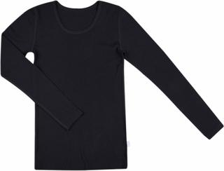 Joha langærmet trøje kvinder - sort uld