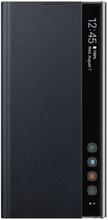 Samsung Galaxy Note 10 Plus Clear View Cover Original - Svart
