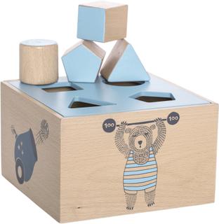 Bloomingville putte kasse med bjørn