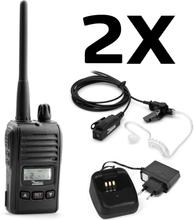 Zodiac Freetalk Mini Komradiopaket 2 enheter med laddare