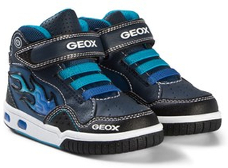 Geox Flame Light Up Junior Android Sneakers Marinblå 32 (UK 13)