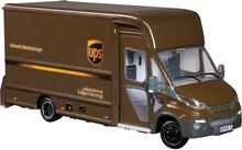UPS Radiostyrd budbil IVECO P80 Daily CNG 1:16