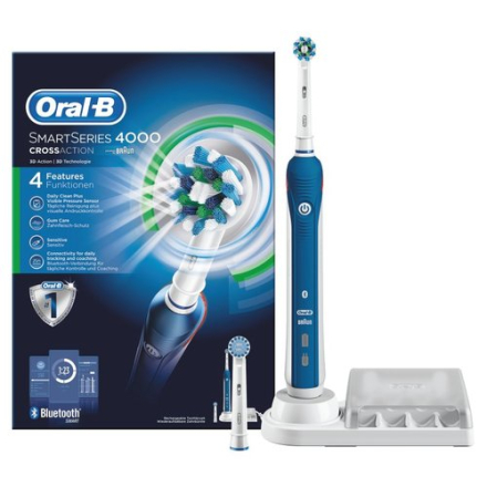 Oral-B SmartSeries 4000 CrossAction. 10 stk. på lager
