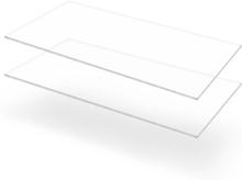 vidaXL Plexiglasskivor 2 st 60x120 cm 5 mm