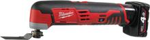 Milwaukee C12 MT-402B Multiverktyg med 2st 4,0Ah batterier och laddare