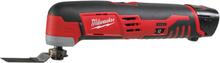 Milwaukee C12 MT-202B Multiverktyg med 2st 2,0Ah batterier och laddare