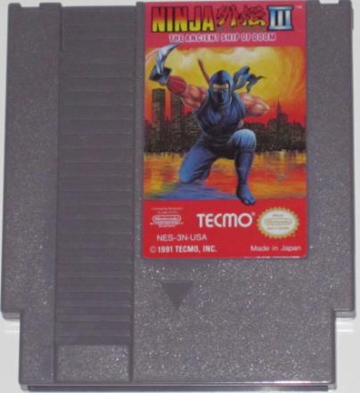 Ninja Gaiden III (NES) NTSC