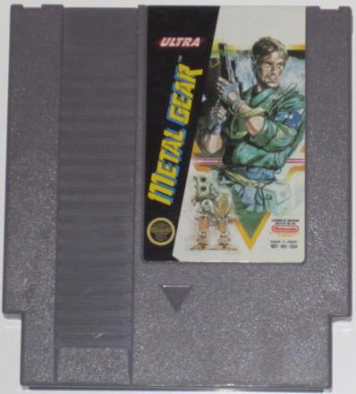 Metal Gear (NES) NTSC