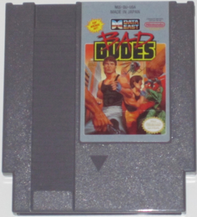 Bad Dudes (NES) NTSC