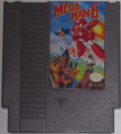 Mega Man 6 (NES) NTSC