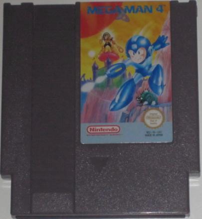 Mega Man 4 (NES) PAL-A