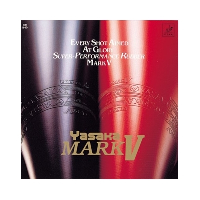 Yasaka Mark V Rubber Röd 1.8 mm