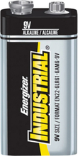 Energizer Industrial 9V/6LR61 Alkaliskt batteri 12-pack