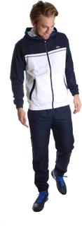 Lacoste Sport Hooded Tracksuit Dark blue/White L