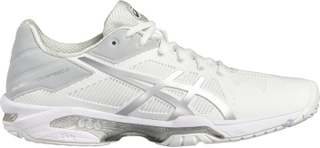 Asics Gel-Solution Speed 3 Women White/Silver 37