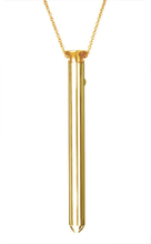 Crave - Vesper Vibrator Necklace Gold