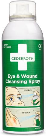 Cederroth 726000 Ögon- och sårrengöringsspray 150ml