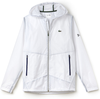 Lacoste Novak Djokovic Jacket Exclusive Edition White S