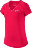 Nike Pure Court Top Girl Magenta/White S