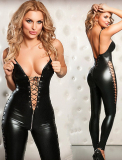 C80201 Two-Way Zipper Catsuit