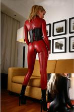C80415 Leather Bodysuit