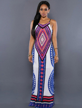 Characteristic National Wind Long Dress