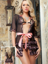 3 Pieces Innocent Valentine Robe Set