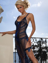 Sexy Long Mesh Dress
