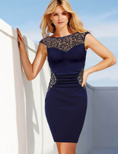 Elegant V-Back Ruched Bodycon Dress