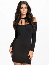 Strappy Halterneck Slim Bodycon Dress