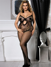 Gothic Crotchless Bodystockings