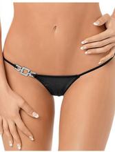 P50521 Jeweled Side Thong