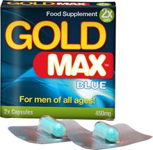 Gold Max™ Kosttilskott för manlig potens - Hårdare stånd 2 kaps